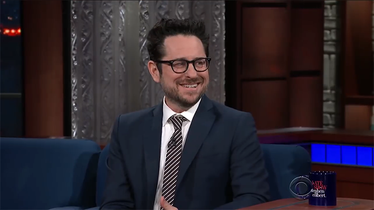 J.J. Abrams Announces That He Has the Script for 'Star Wars: Episode IX' on The Late Show