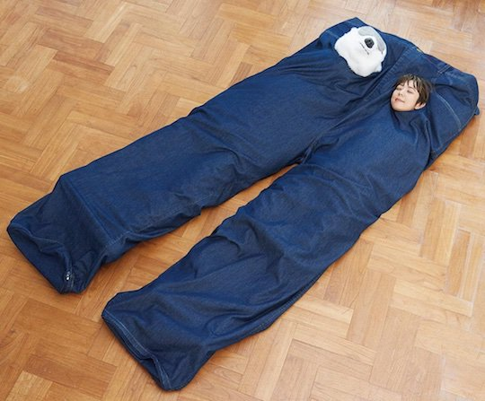 Jeans Sleeping Bag