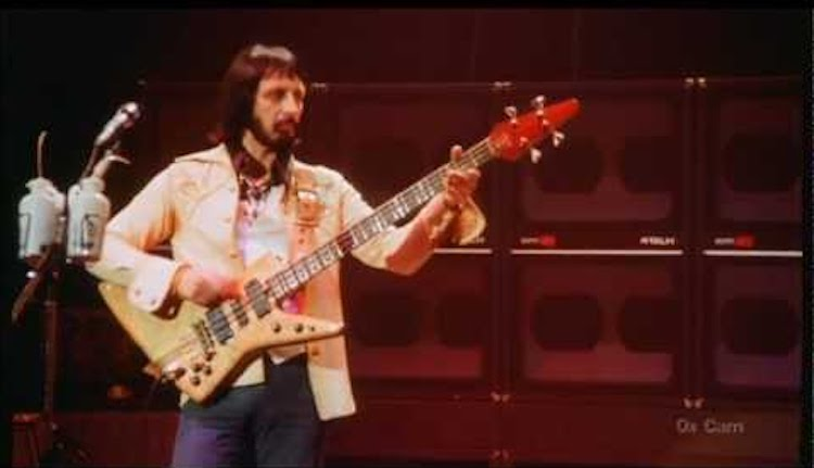 The Incredible Talent of John Entwistle of The Who As Shown
