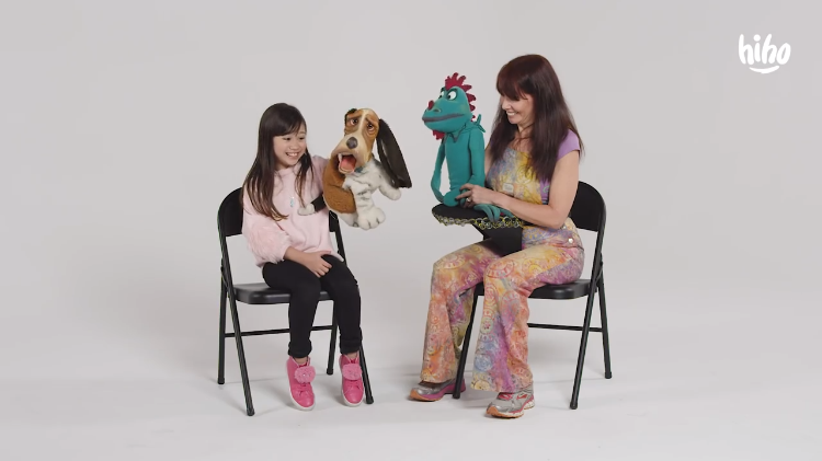 A Talented Ventriloquist Talks to Curious Children About What She Does For a Living