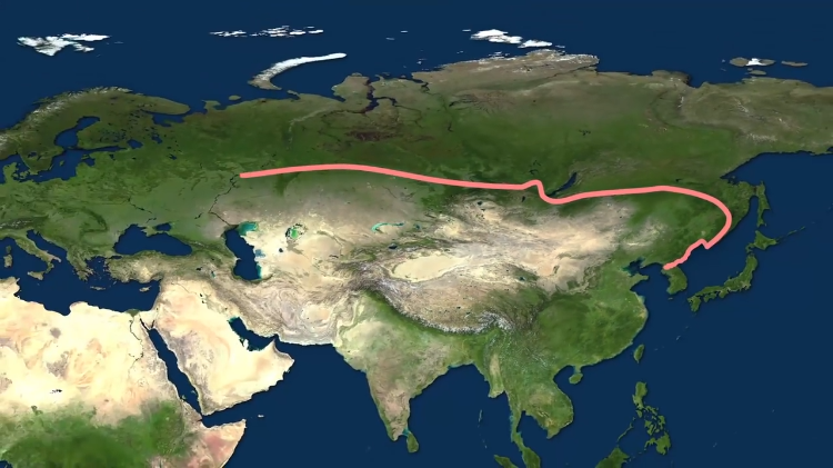 The Longest Passenger Train Routes in the World