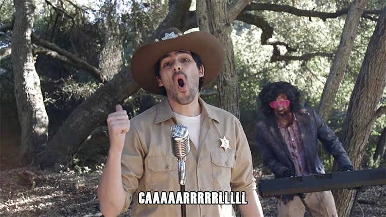 Lyrics Added to The Walking Dead Theme Song