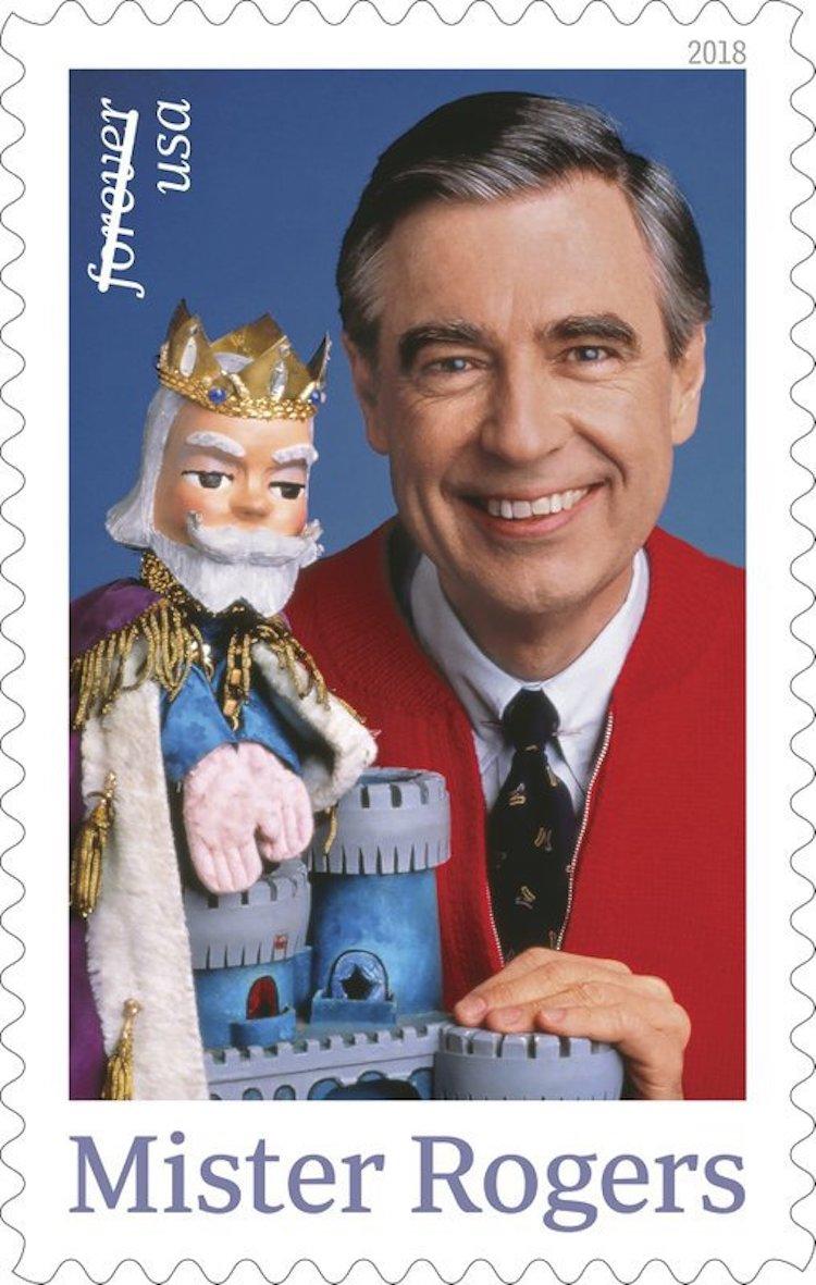Mister Rogers Stamp