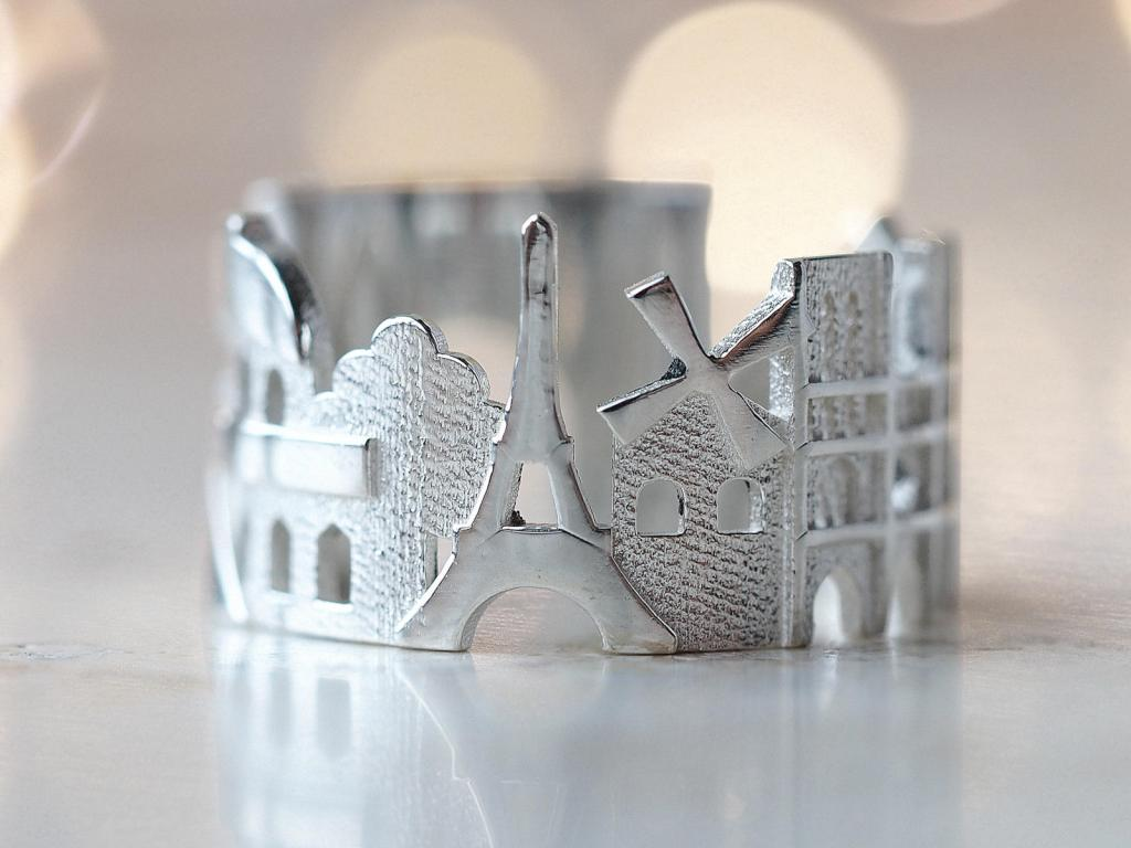 Stunning Cityscape Rings Featuring Significant Geographic Icons From Cities All Over the World