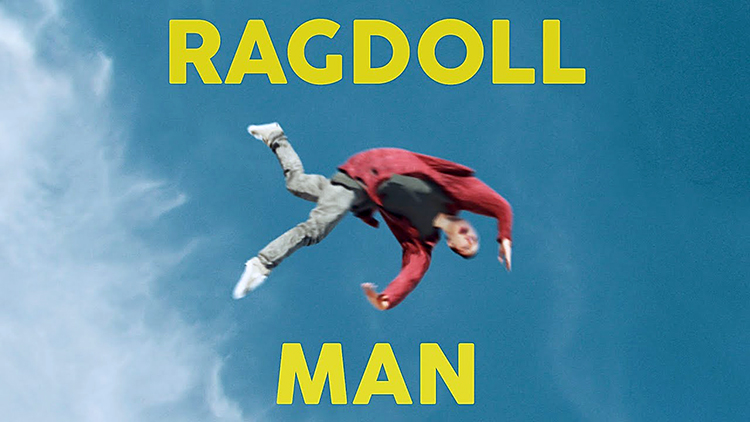 A Teen Falls Down Some Stairs and Causes Chaos as His Ragdoll Body Bounces Around Town