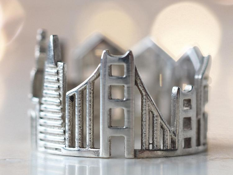 SF Cityscape Ring