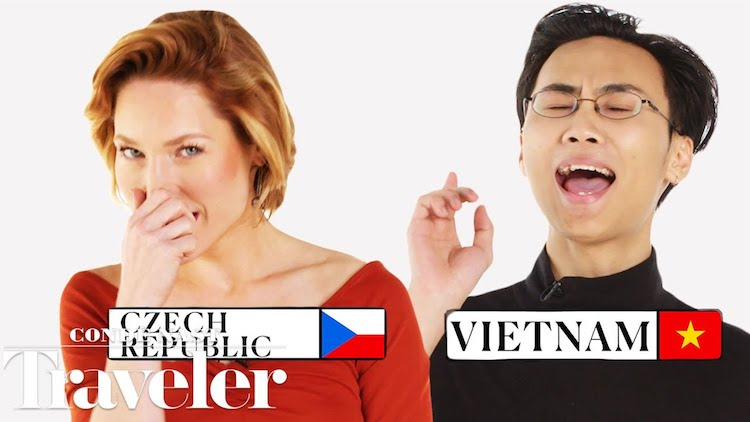 People From Around the World Show How They Sneeze and What's Said Afterwards in Their Country