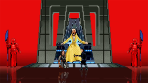Snoke's Throne Room Fight From 'The Last Jedi' Reimagined as a 16-Bit Animated Video Game