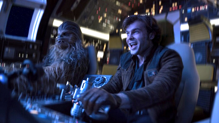 The Trailer for 'Solo: A Star Wars Story' Re-Cut to the Adrenaline Pumping Beastie Boys Song 'Sabotage'