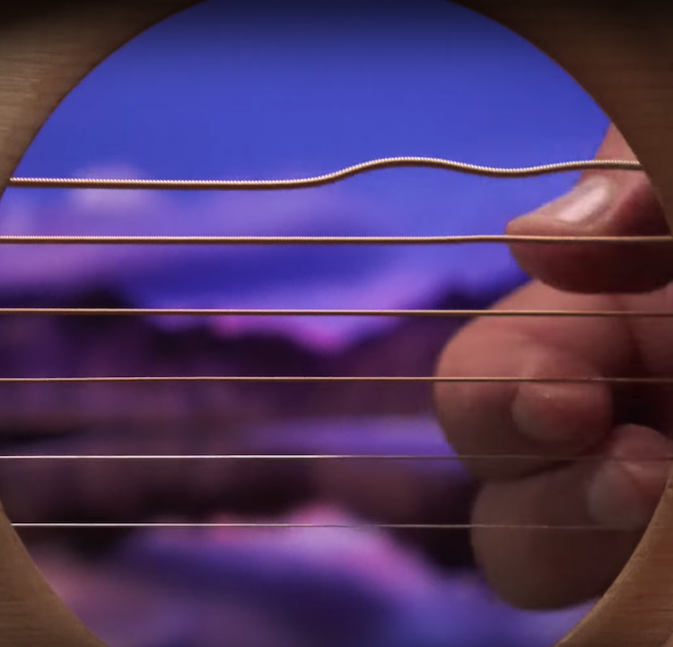 A Second Hypnotic Compilation of Acoustic Guitar Songs as Seen Through the Instrument's Sound Hole