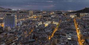 Twilight in Athens