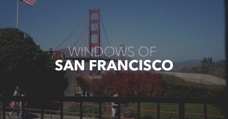 Windows of San Francisco