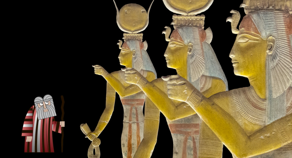 Ancient Goddesses Serenade an Animated Moses With the Pointer Sisters Song 'You Gotta Believe'