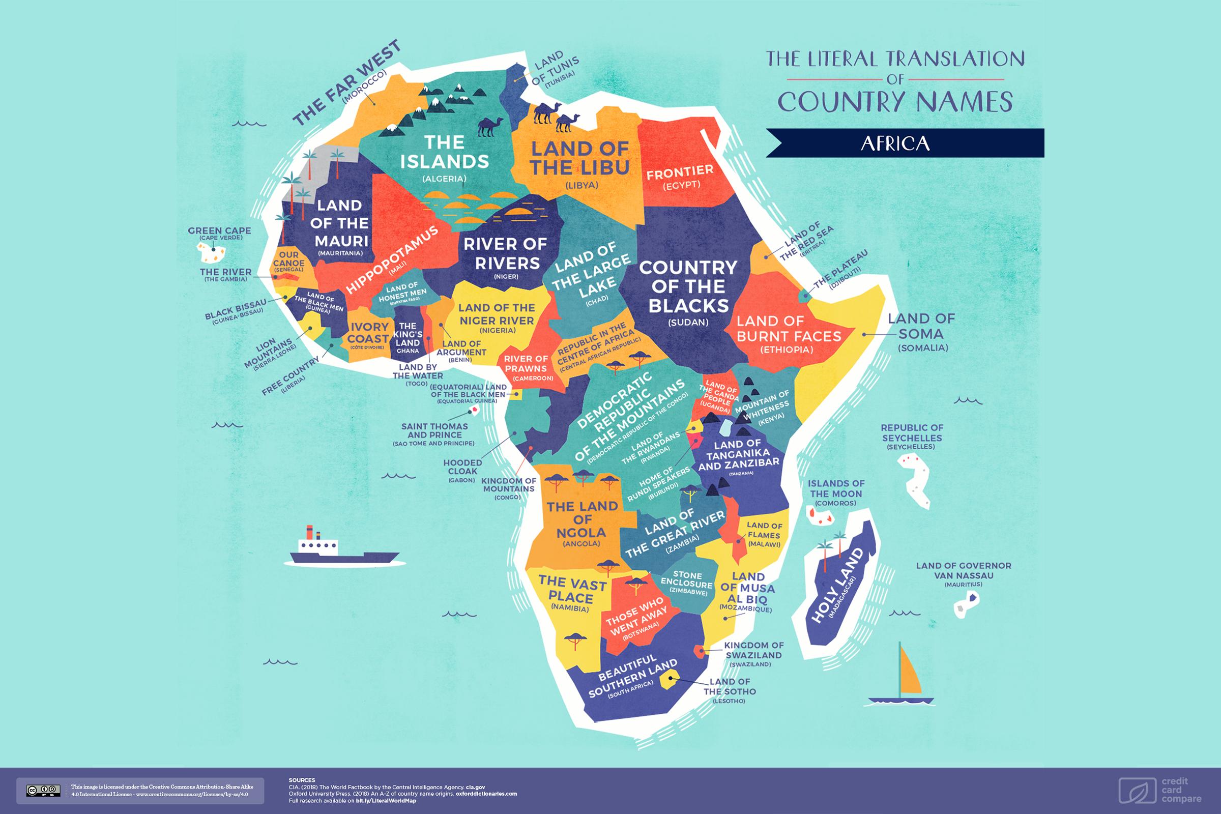 CC Map Africa