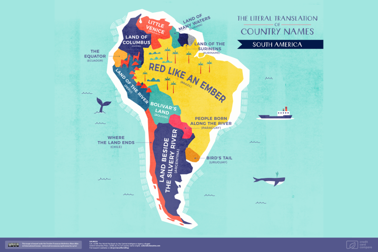 CC Map South America