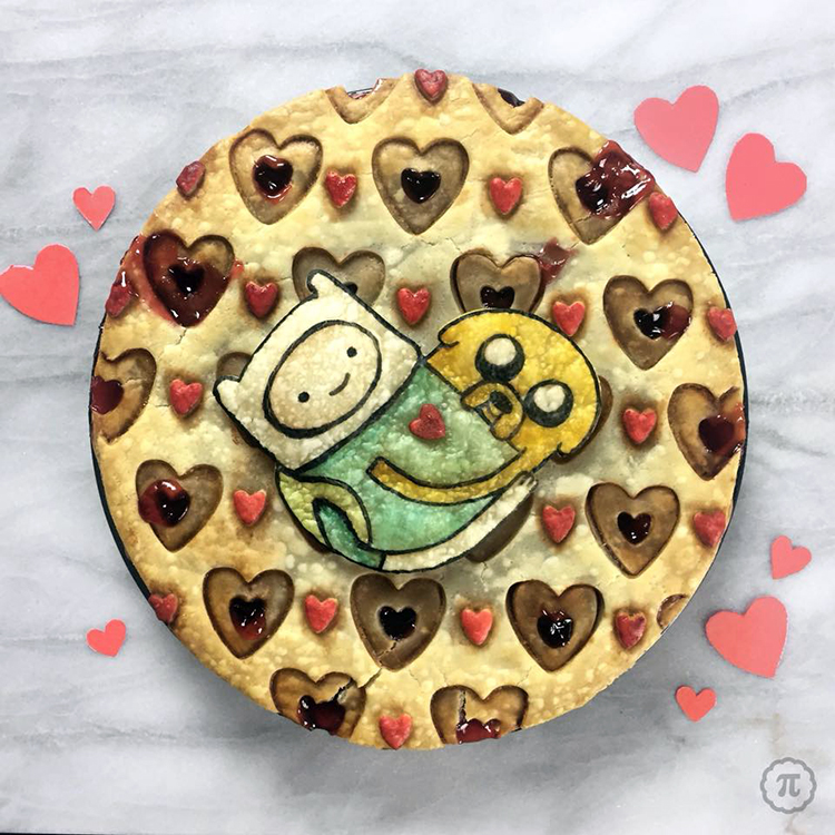 A Charming Adventure Time Cherry Pie