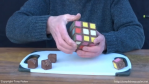 A Functioning Chocolate Rubik's Cube for Easter