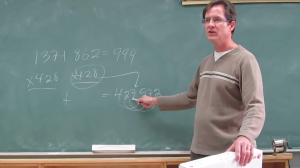 A Teacher Races Students Armed With Calculators to Solve a Math Problem