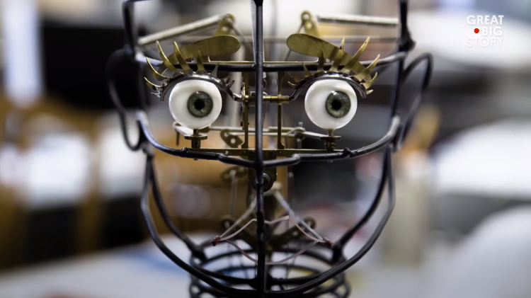 swiss artist creates amazing automatons that come alive with