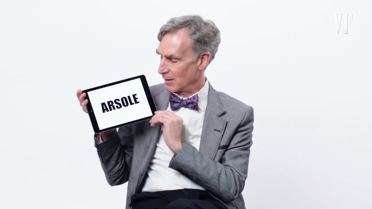 Bill Nye the Science Guy Offers a Humorous Tutorial on Scientific Slang, Expressions and Jokes