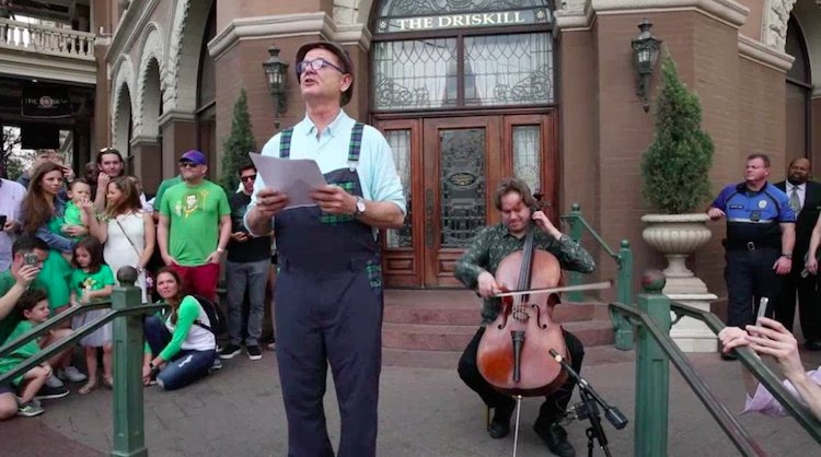 Bill Murray Performs a Dramatic Reading of the Lawrence Ferlinghetti Poem 'Dogs'  at SXSW