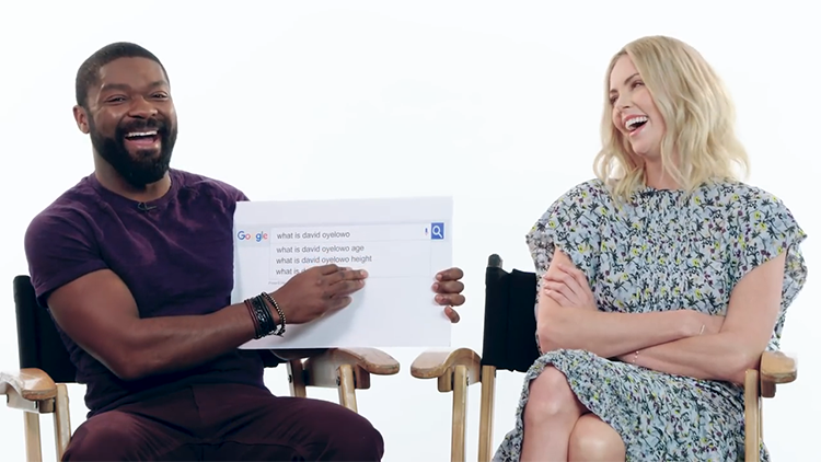 Charlize Theron and David Oyelowo Answer the Web's Most Searched Questions