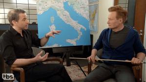 Conan O'Brien and Jordan Schlansky Hilariously Prepare for Their Trip to Italy