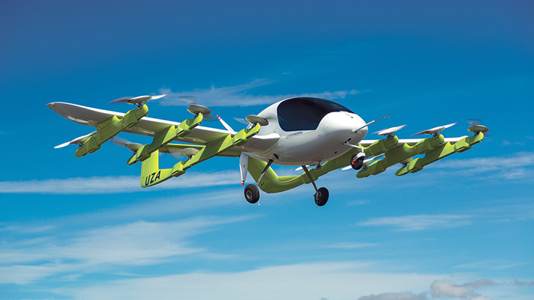 Cora, A Futuristic Fully-Electric Flying Taxi That Soars Through the Sky Without a Pilot