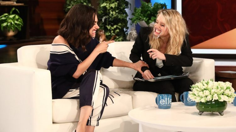 A Drooling Kate McKinnon and Mila Kunis Play a Hilarious Round of 'Speak Out' on The Ellen Show