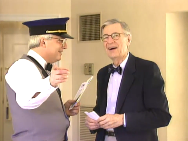 A Heartwarming Candid Camera Clip Of An Unruffled Mister Rogers Being Told His Room Has No Tv