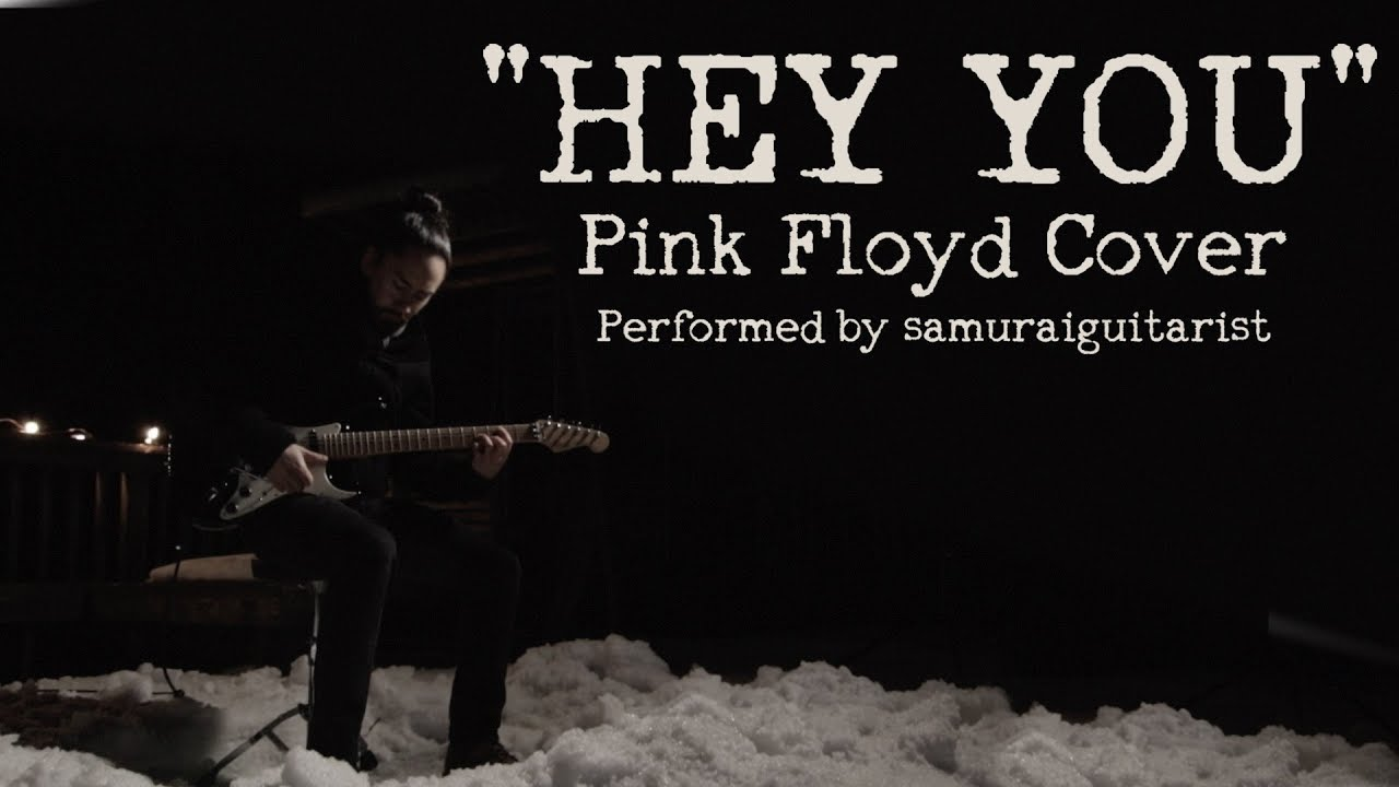 A Haunting Solo Guitar Arrangement of the Pink Floyd Song 'Hey You' Played on a Sweet Stratocaster