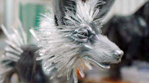 How the Beautiful Crystal Foxes Were Created for Star Wars The Last Jedi