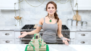 How to Make a Pineapple Flavored 'Tomb Raider' Temple Cake