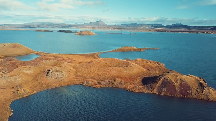 Amazing Drone Footage That Captures the Unique Otherworldly Beauty of Iceland From High Above