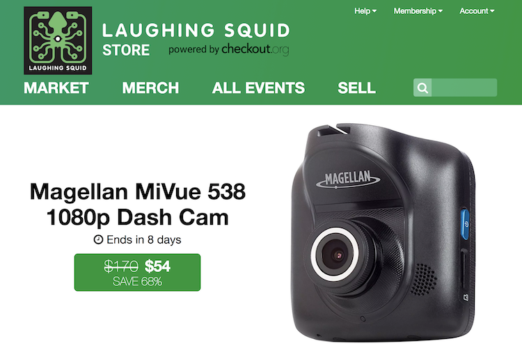 Announcing the New Laughing Squid Store