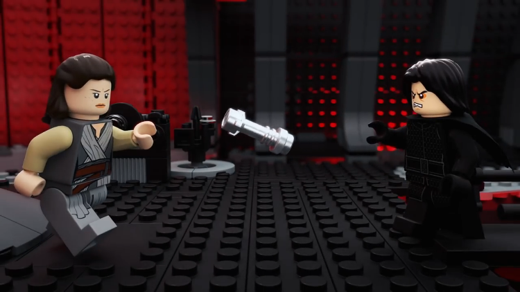 Two-Minute LEGO Recap of Star Wars: The Last Jedi