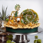 Rick and Morty Pie