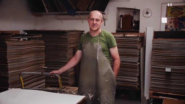 A Beautiful Film About One of the Last European Artisans Who Craft Paper Completely by Hand