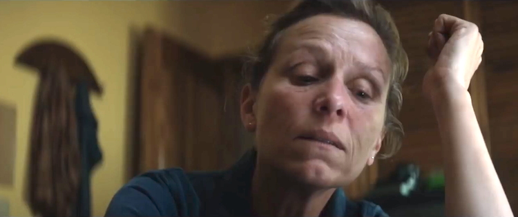 How Mildred of Three Billboards Outside Ebbings, Missouri Struggles to Live Her Life in the Present