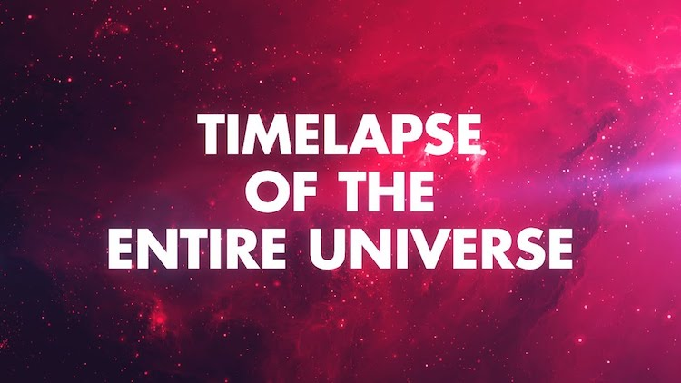 A Stunning Timelapse of the Entire Universe Over 13 Billion Years as Described by Four Iconic Narrators