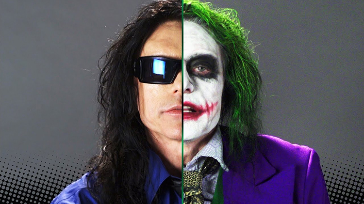 The Room Director Tommy Wiseau Made a Gloriously Terrifying Joker Audition Tape