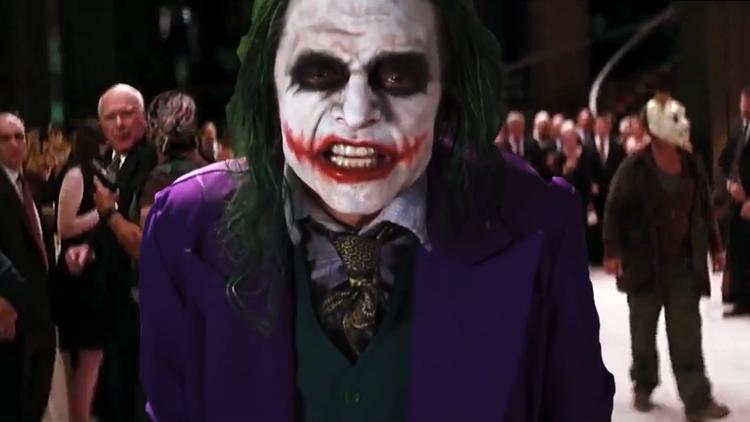 Tommy Wiseau's Joker Edited Into 'The Dark Knight'