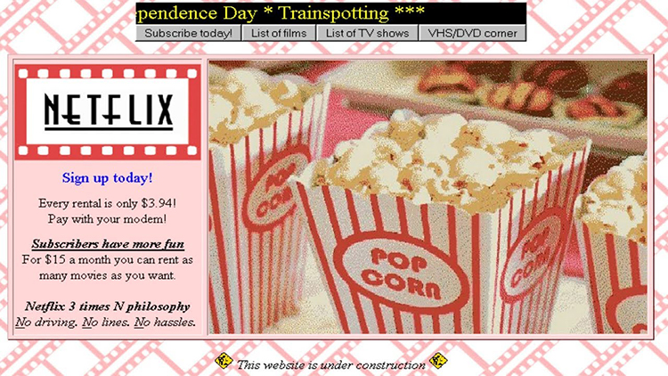 What Streaming Netflix Movies Would Have Been Like in 1995