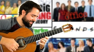 A Beautiful Classical Guitar Cover of TV Sitcom Theme Songs
