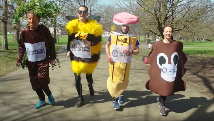 Creative Marathon Runners Breaking Records While Dressed in a Variety of Costumes