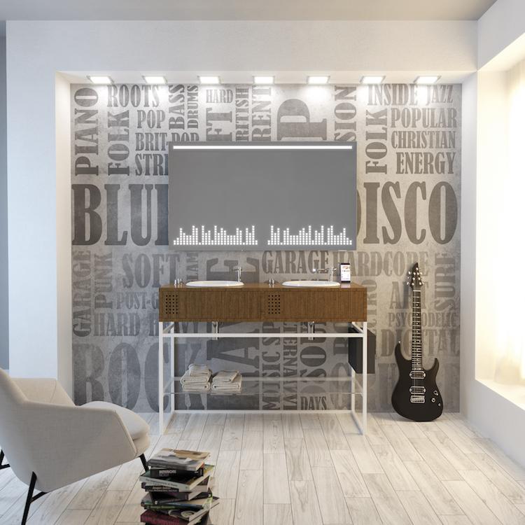 Vinyl Bathroom