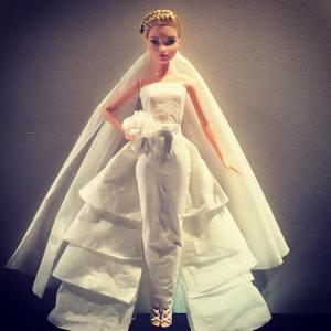Barbie Tissue Wedding Dress