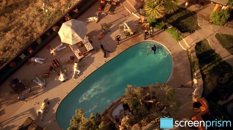 Breaking Bad Pool Scene