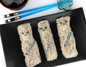 Chewbacca Noodle Rolls