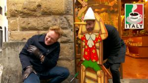 Conan & Jordan Schlansky Hit The Streets Of Florence